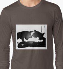 Mr. Kitty -Computer Geek T-Shirt