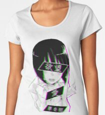 LUST (alternative)- Sad Japanese Aesthetic Women's Premium T-Shirt