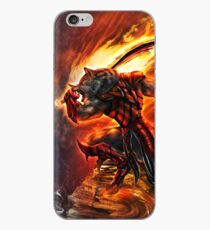 War Within Fire Wolf iPhone Case