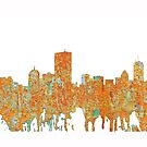 Skyline Bostons, Massachusetts - Rost von Marlene Watson
