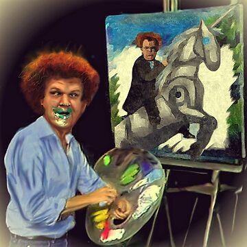 Steve Brule paints by Tarajillian