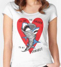 Shark To My Tornado Women's Fitted Scoop T-Shirt
