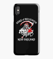 the new england iPhone Case/Skin
