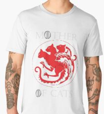 MOTHER OF CATS-GAME OF THRONES Men's Premium T-Shirt
