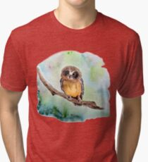 Baby Eule Vintage T-Shirt
