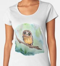 Baby Owl Women's Premium T-Shirt