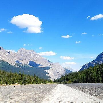 Road to the Rocky Mountains  by dancinfreakshow