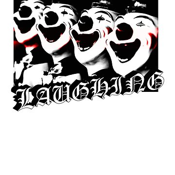 """LAUGHING"" GOTH STREETWEAR CLOWN G59 DARK by WickedWays"