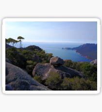 Tasmanian ocean look out Sticker