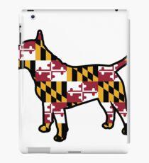 Bull Terrier Maryland Flag iPad Case/Skin