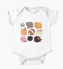 Well Rounded Pigs One Piece - Short Sleeve