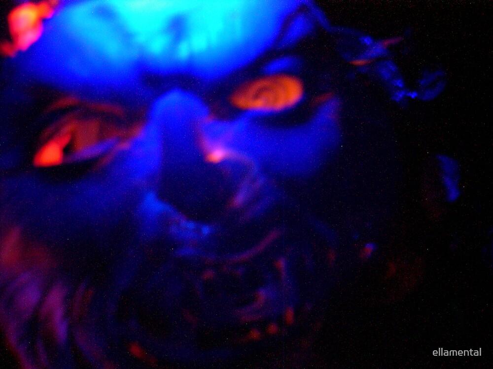 Scary  Harry by ellamental