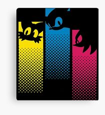 Sonic, Tails and Knuckles (& Knuckles) Canvas Print