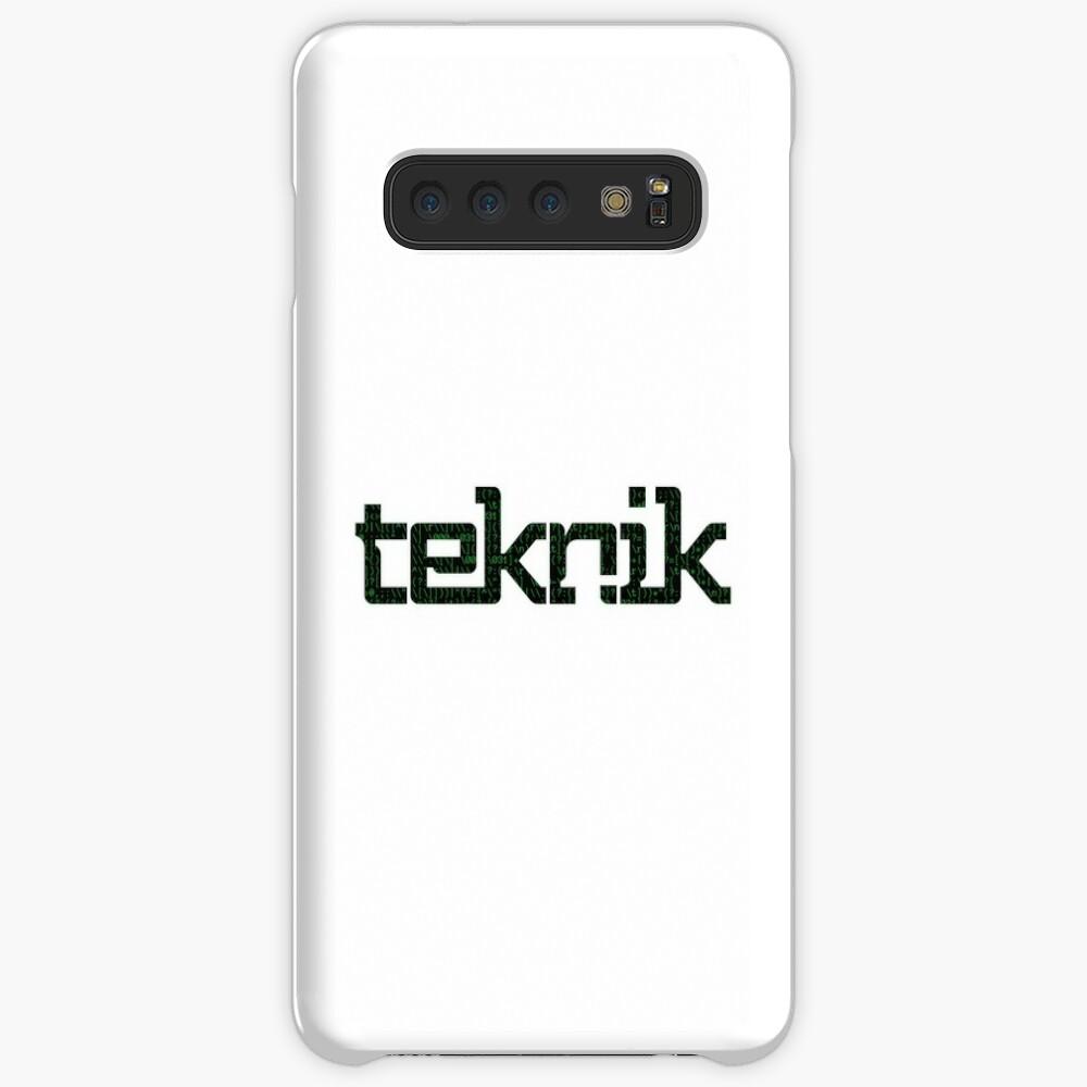 Hacker Teknik Logo Case & Skin for Samsung Galaxy