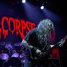 Cannibal Corpse, Alex Webster by Ignacio Orellana Alarcon