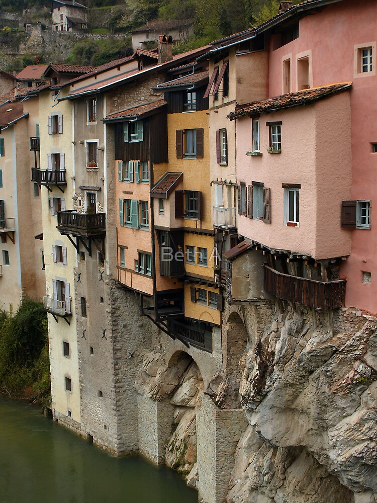The Suspended Houses by Beth A