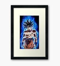 Dragon Ball Super - Goku New Transformation Framed Print