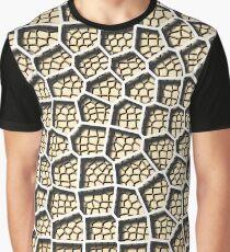Voronoi Diagram - Layered Light Skin Tone Graphic T-Shirt