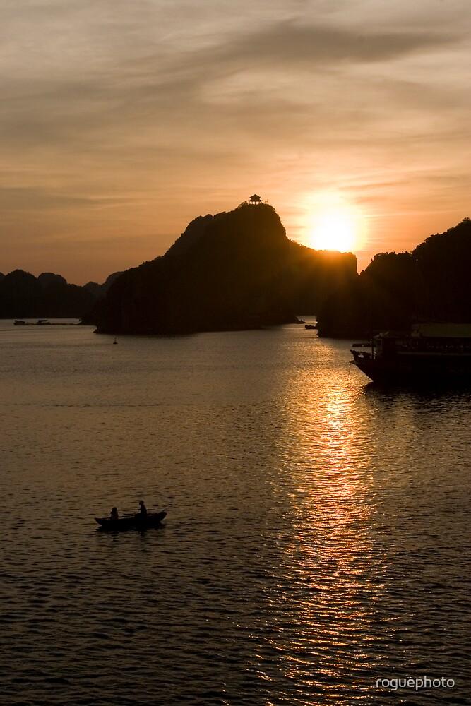 Sunset at Halong Bay - Vietnam by roguephoto