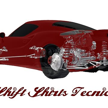 Carbon Tub - Alfa Romeo 4C Inspired by ShiftShirts