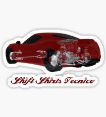 Carbon Tub - Alfa Romeo 4C Inspired Sticker