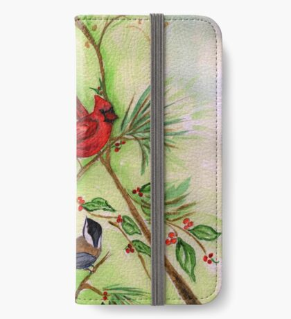 Birds of a Feather iPhone Wallet