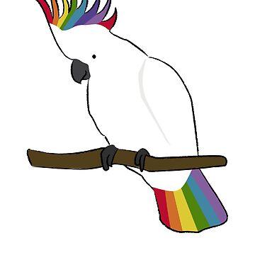 Rainbow Cockatoo  by MommySketchpad