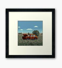 Native Grasslands: 3 Framed Print