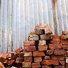Brick Pile by Stephen Mitchell