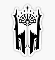 Shadow of Mordor Black Gate Sigil Sticker