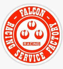 Watanabe Falcon Steering Wheels Sticker