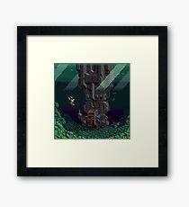 Orga and Mekai: 3 Framed Print