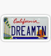 Pegatina dreamin california