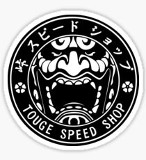 Touge Speed Shop Sticker