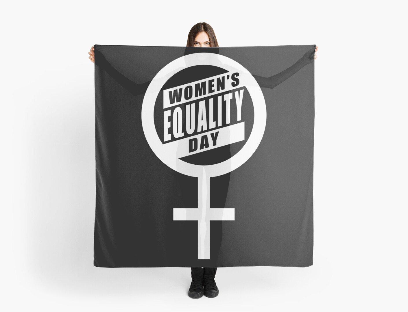 Womens Equality Day Symbol Scarves By Ethoswear Redbubble