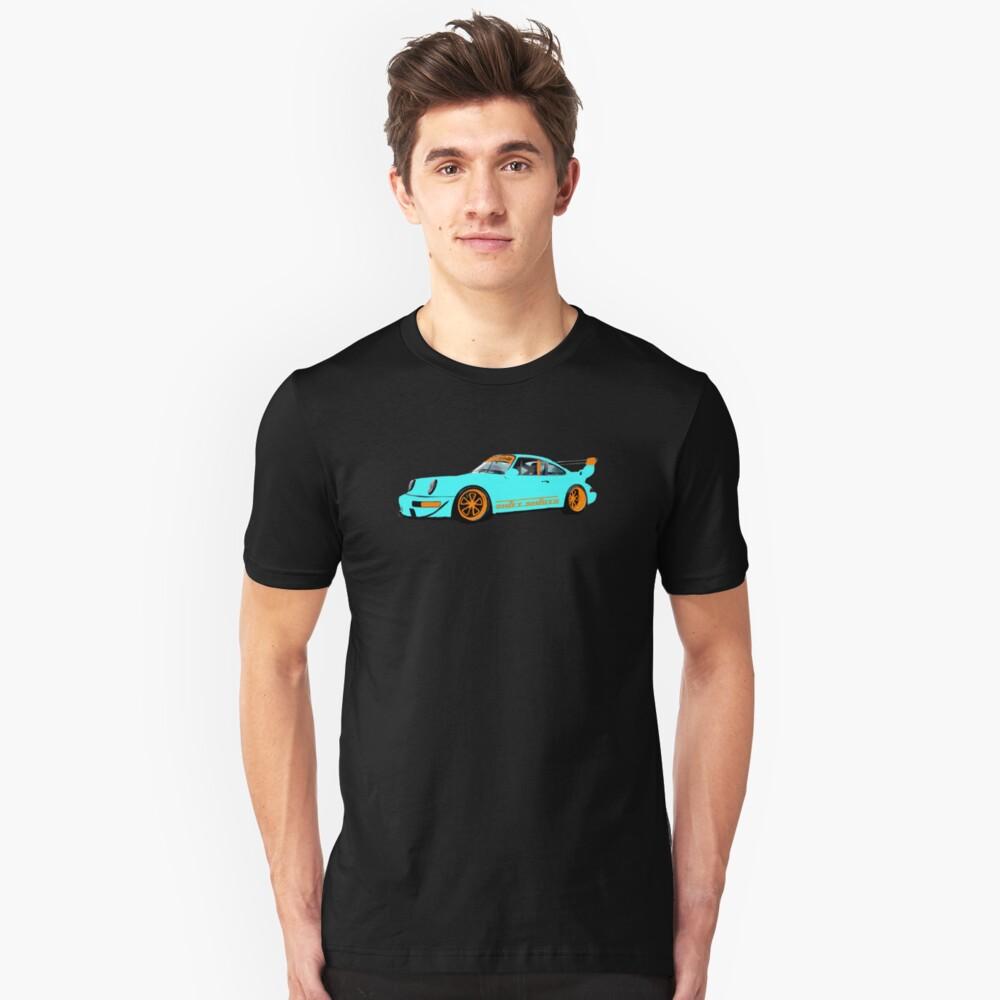 Livery RWB - Porsche 911 Rauh Welt Inspired Unisex T-Shirt Front