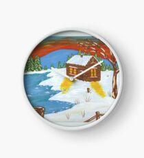 Canadian Winter Clock
