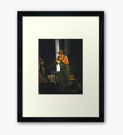 Jug Player Framed Print