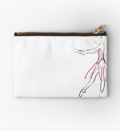Skizze der Ballerina des Mädchens Täschchen