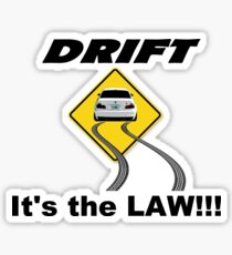 Legal Drift Zone – BMW M3 E46 Drifting Inspired Unisex T-Shirt Sticker