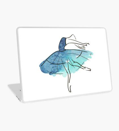 Ballerina Figur, Aquarell Laptop Folie
