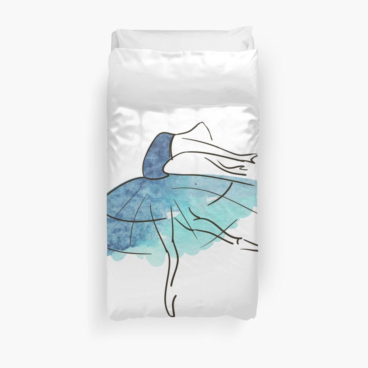 ballerina figure, watercolor by OlgaBerlet