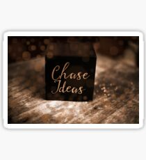 Chase Ideas Cube of Inspiration! Sticker