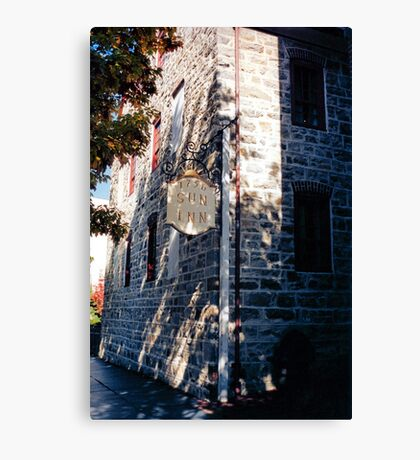 Moravian Sun Inn Canvas Print