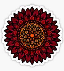 Sun mandala  Sticker