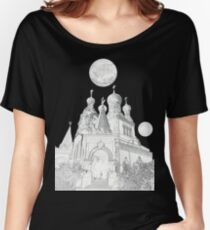 Cathedral in Jovian Orbit Women's Relaxed Fit T-Shirt