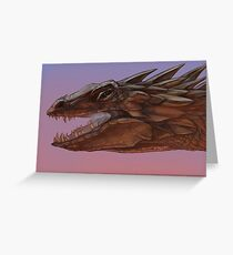 Dragon Portrait #1 Greeting Card