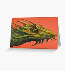 Dragon Portrait #2 Greeting Card