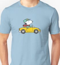 The Peanuts - Snoopy Car T-Shirt