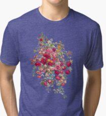 """Bouquety"" Tri-blend T-Shirt"
